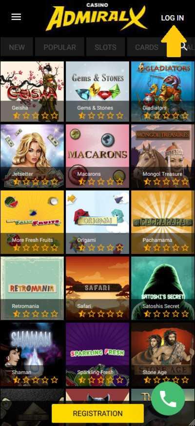 Скачать приложение казино адмирал play casino craps online